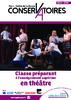 Classe préparant à l'enseignement supérieur en théâtre - Conservatoires Paris - Val de la Marne - 2018 - application/pdf